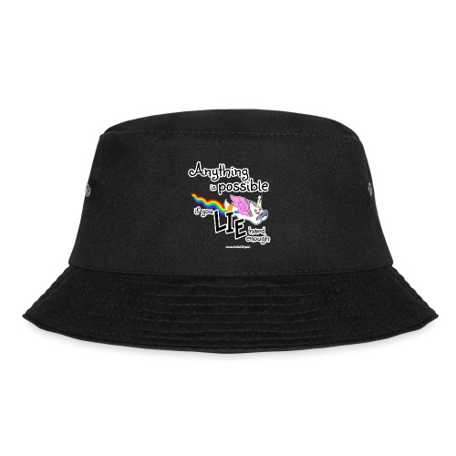 Anything Is Possible if you lie hard enough - Bucket Hat