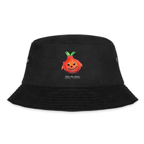 mens black T-shirt Ollie the Onion - Bucket Hat