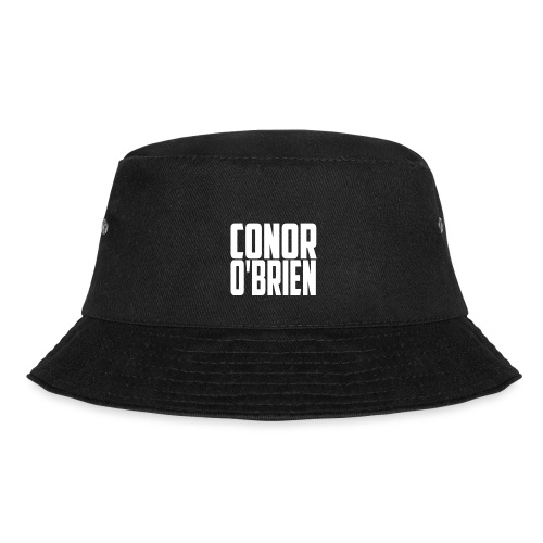 The Conor O'Brien Logo (White Edition) - Bucket Hat