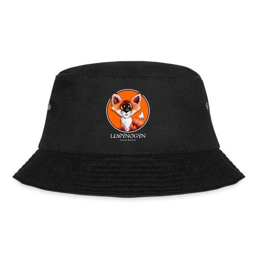 llwynogyn - a little red fox (white) - Kalastajanhattu