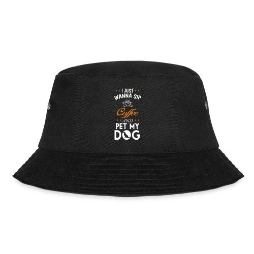 Kaffee trinken und Hunde streicheln - Happy! - Fischerhut