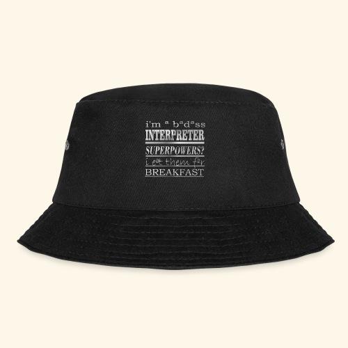 INTERPRETER - Cappello alla pescatora
