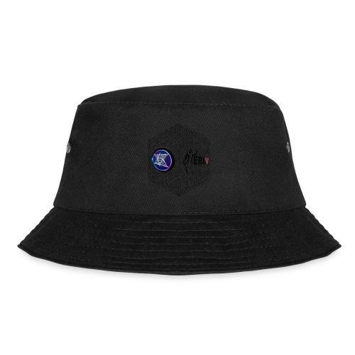 disen o dos canales cubo binario logos delante - Bucket Hat