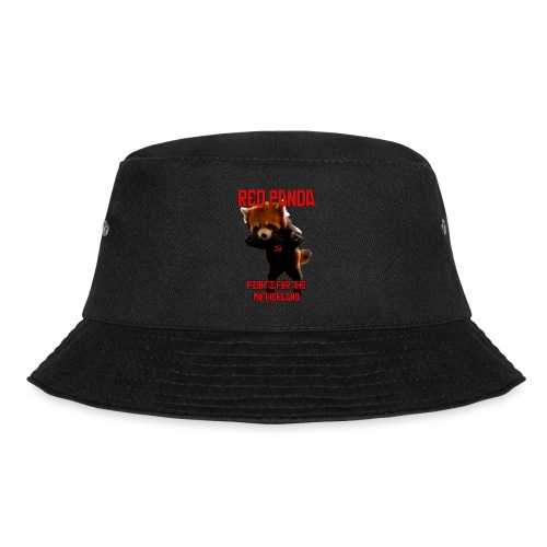 Red Panda Fights For The Motherland - Bucket Hat