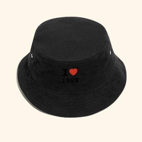I Love 88 b 001 - Fischerhut