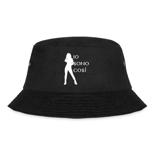 Scritta su maglietta con disegno - Cappello alla pescatora