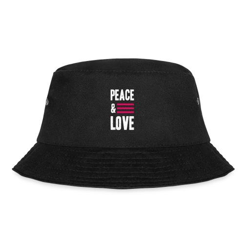 Peace and Love - Fischerhut