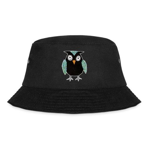 Collage mosaic owl - Bucket Hat