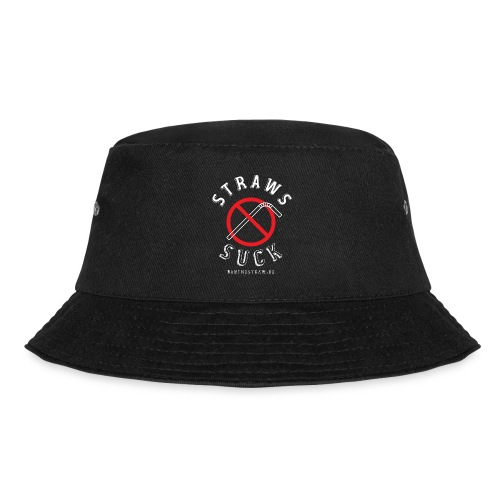 Back In Black with our Classic Logo - Bucket Hat