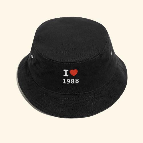 I Love 88 w p 001 - Fischerhut