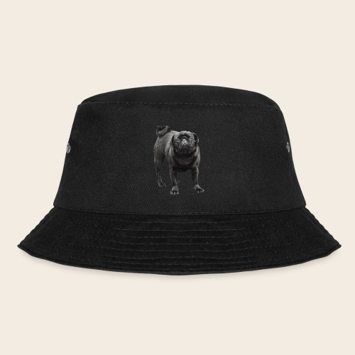 schwarzer Mops - Fischerhut