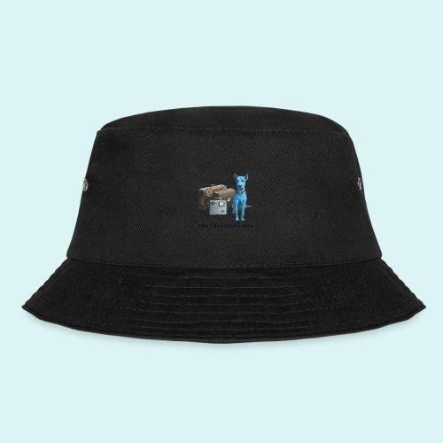 Laly Blue Big - Bucket Hat