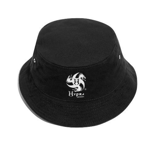 Hydra DESIGN - logo white - Cappello alla pescatora