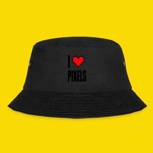 I Love Pixels - Kapelusz wędkarski