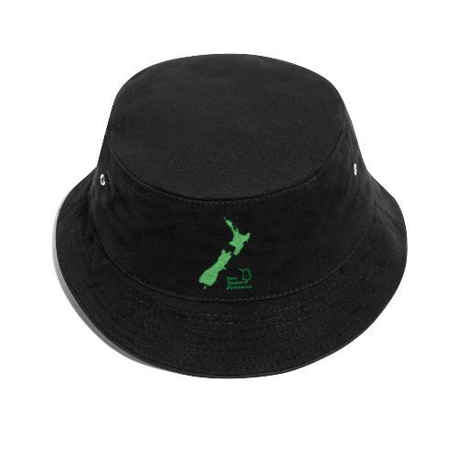 New Zealand's Map - Bucket Hat