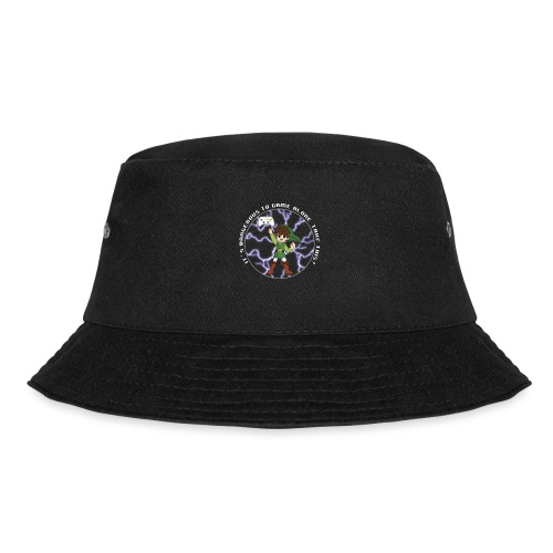 Dangerous To Game Alone - Bucket Hat