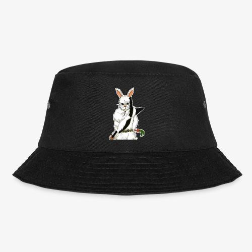 The white Rabbit - Bøttehatt