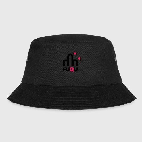 T-shirt FUQU logo colore nero - Cappello alla pescatora