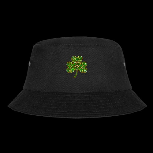 Celtic Knotwork Shamrock - Bucket Hat