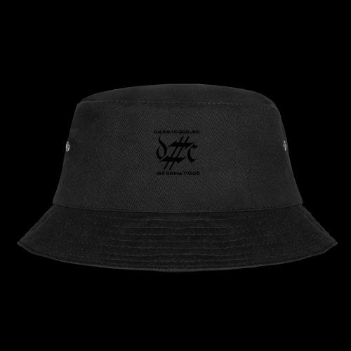 Dark-Code Black Gothic Logo - Bob
