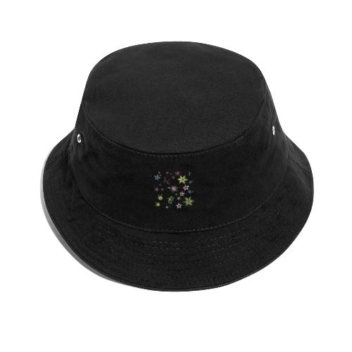 flowers and butterflies - Cappello alla pescatora