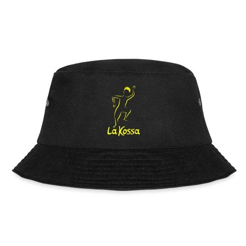 La Kossa - Unser Herz tanzt bunt - Logo Gelb - Fischerhut