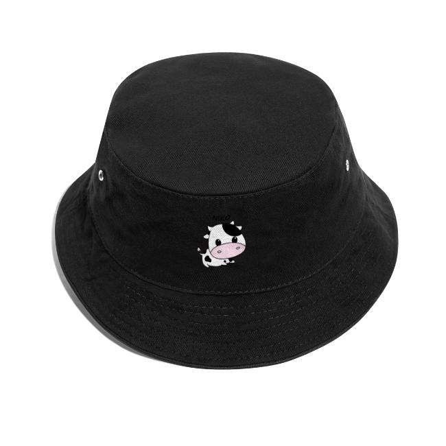 Hat with a cute cow on!