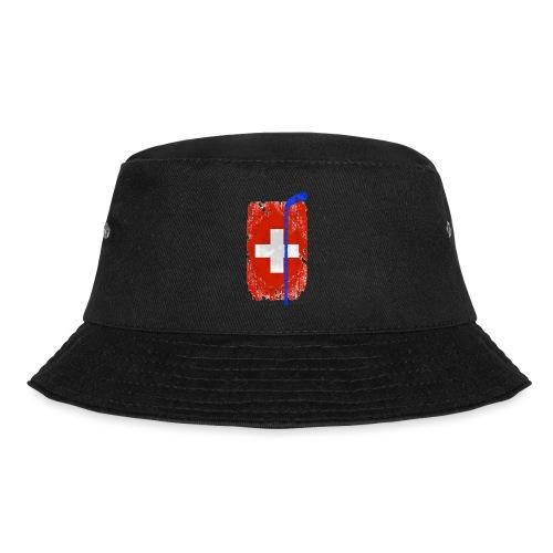 Schweizer Flagge Hockey - Fischerhut