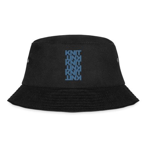 Garter Stitch, dark - Bucket Hat