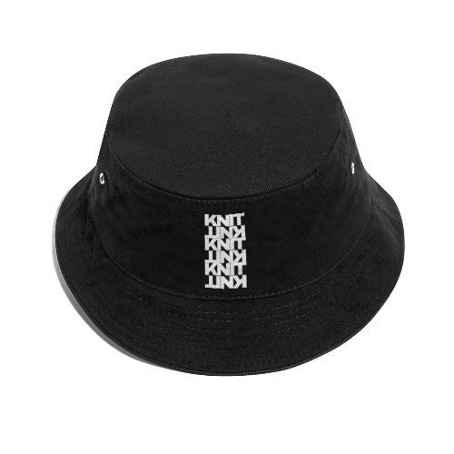 Garter Stitch, light - Bucket Hat