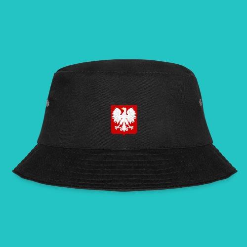 Koszulka z godłem Polski - Kapelusz wędkarski