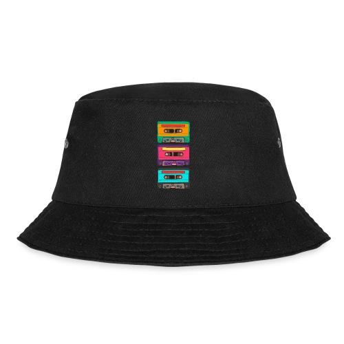 Colorful Cassettes row - Fiskarhatt