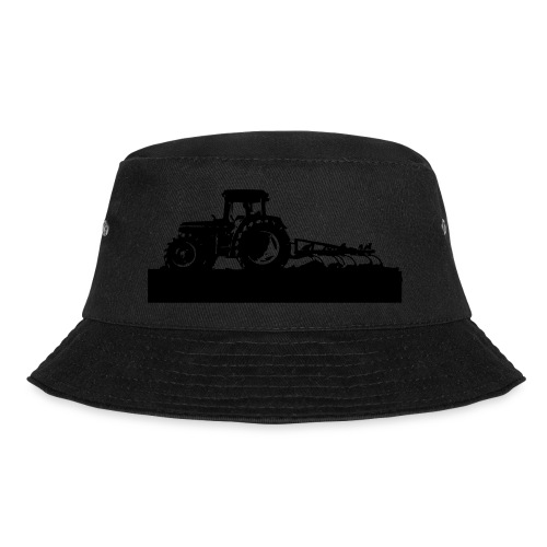 Tractor with cultivator - Bucket Hat