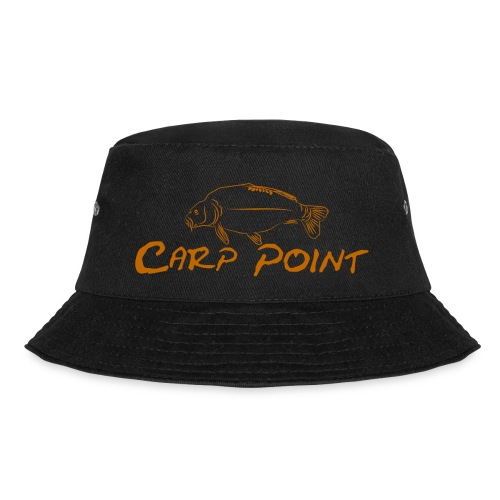 Carp-Point-orange-big - Fischerhut