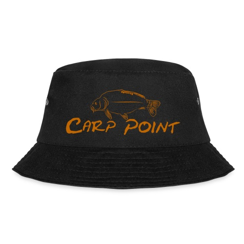 Carp Point orange mid - Fischerhut