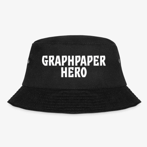 Graphpaper Hero - Bucket Hat