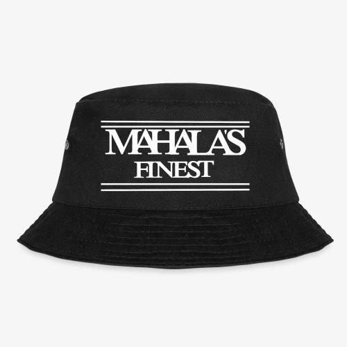 MAHLAS FINEST LOGO 2020 white - Bucket Hat