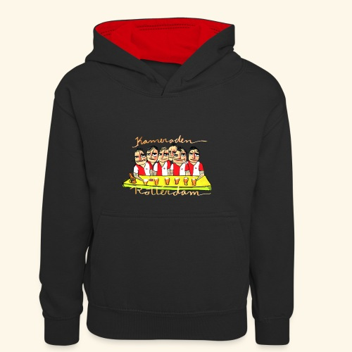 Kameraden Feyenoord - Teenager contrast-hoodie/kinderen contrast-hoodie