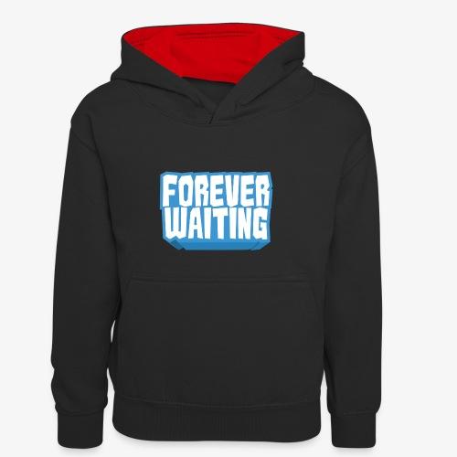 Forever Waiting - Kids' Contrast Hoodie