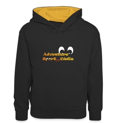 ADVENTURE SPORT CLUB CÁDIZ - Sudadera con capucha para niños