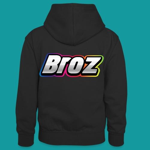 Broz - Teenager contrast-hoodie/kinderen contrast-hoodie