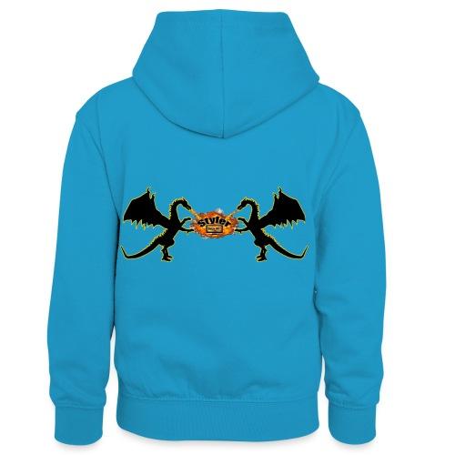Styler Draken Design - Teenager contrast-hoodie/kinderen contrast-hoodie