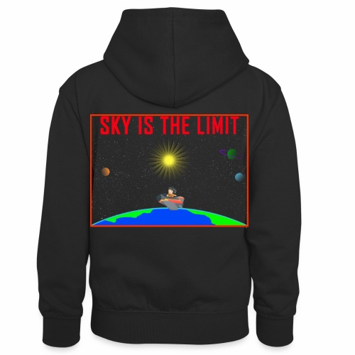 Sky is the limit - Kids' Contrast Hoodie