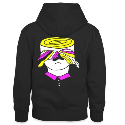 Psy-stache - Teenager contrast-hoodie/kinderen contrast-hoodie