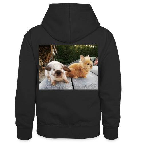 Nouche en Ninou - Teenager contrast-hoodie/kinderen contrast-hoodie