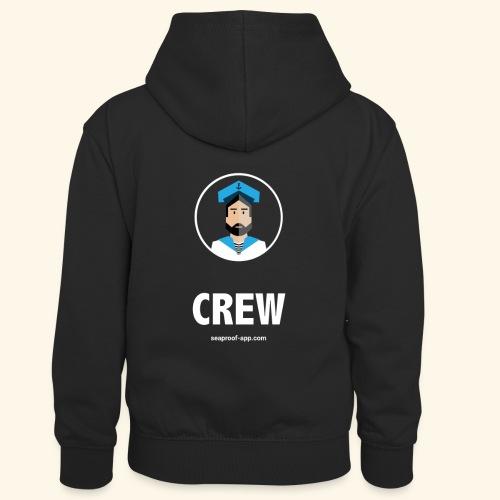 SeaProof Crew - Kinder Kontrast-Hoodie