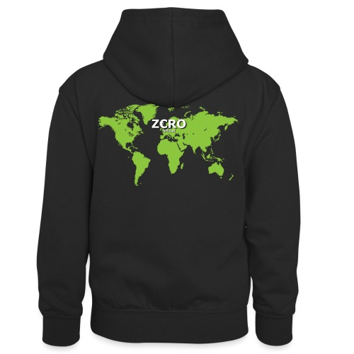 World Z€RO official - Kids' Contrast Hoodie