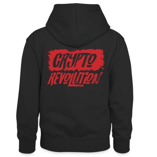 Crypto Revolution - Kids' Contrast Hoodie