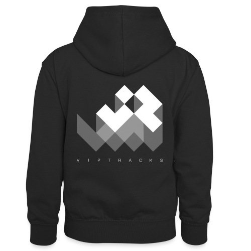 LOGO VIPTRACKS RELEASES - Teenager contrast-hoodie/kinderen contrast-hoodie
