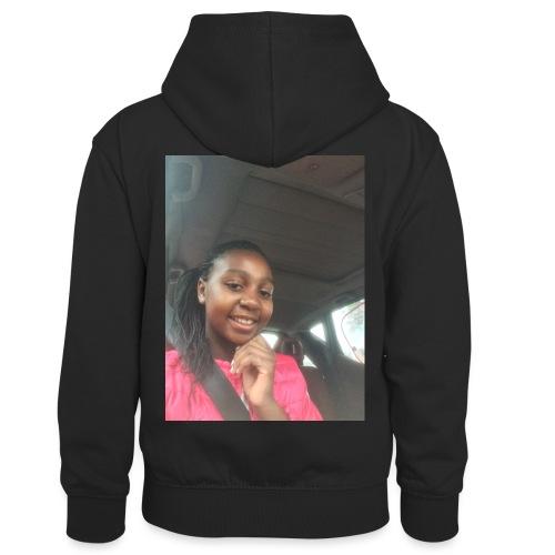 tee shirt personnalser par moi LeaFashonIndustri - Sweat à capuche contrasté Enfant
